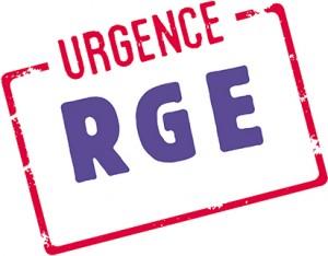 URGENCE RGE