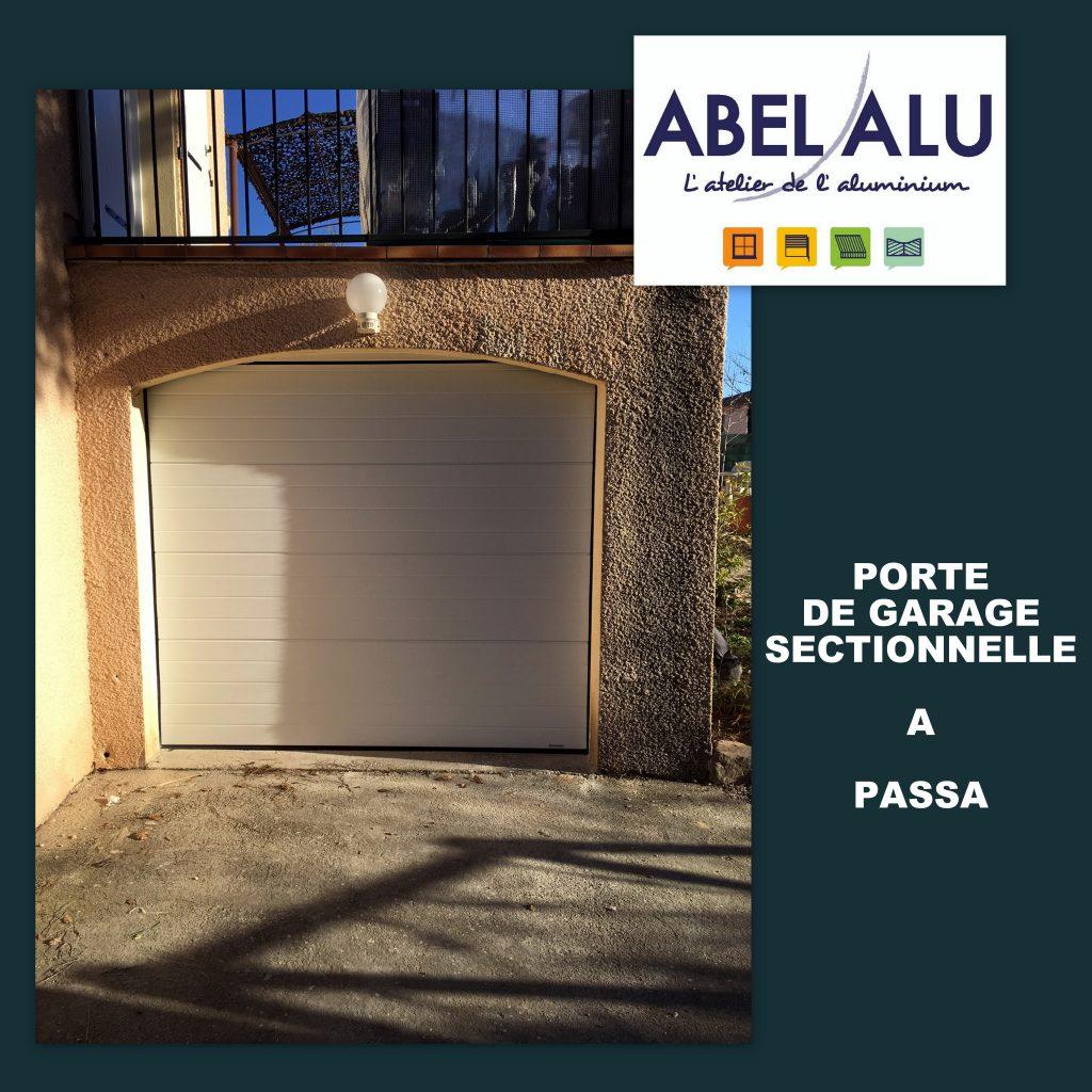 ABEL ALU - PORTE DE GARAGE - PASSA