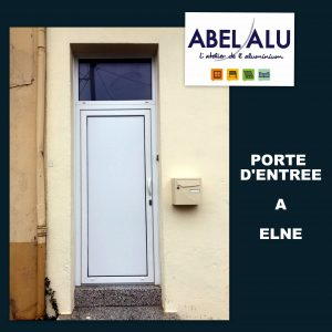 ABEL ALU - PORTE D'ENTREE - ELNE