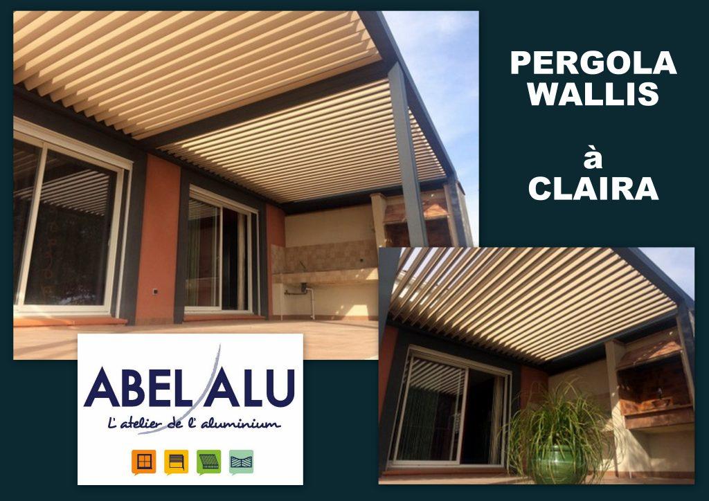 ABEL ALU - PERGOLA WALLIS - CLAIRA