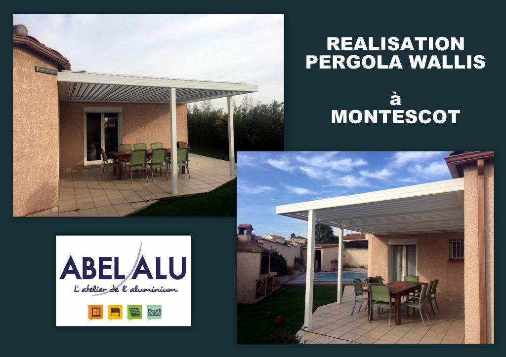 ABEL ALU - PERGOLA WALLIS - MONTESCOT