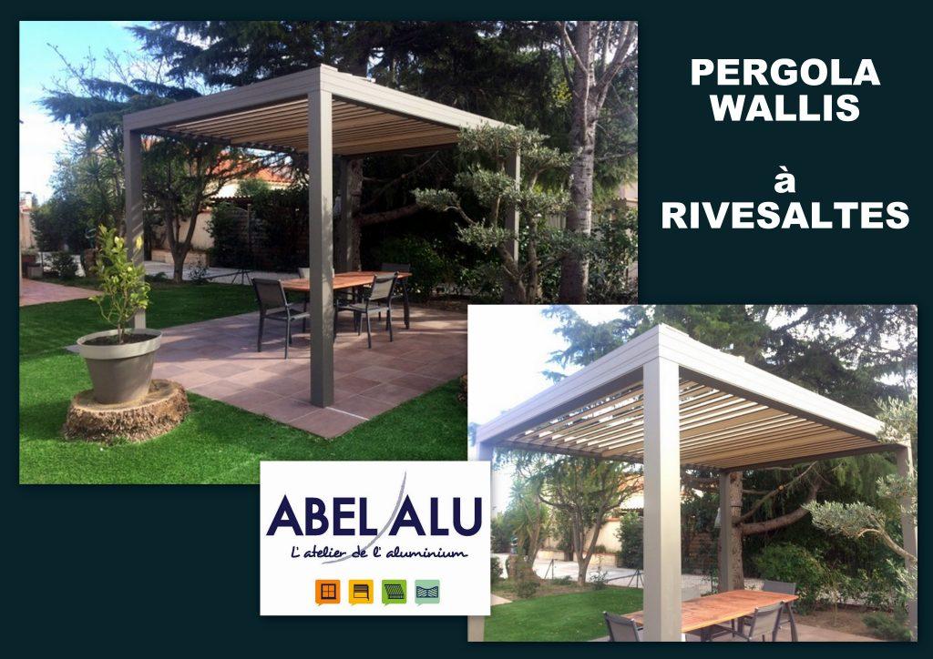 ABEL ALU - PERGOLA WALLIS - RIVESALTES