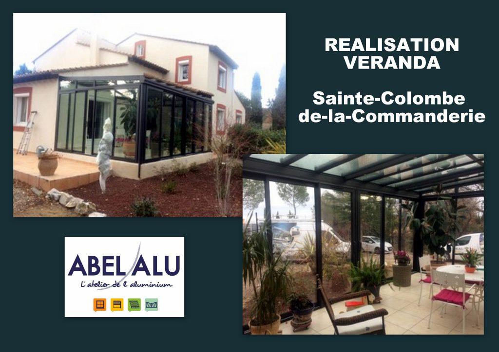 ABEL ALU - VERANDA - ST COLOMBE DE LA COMMANDERIE