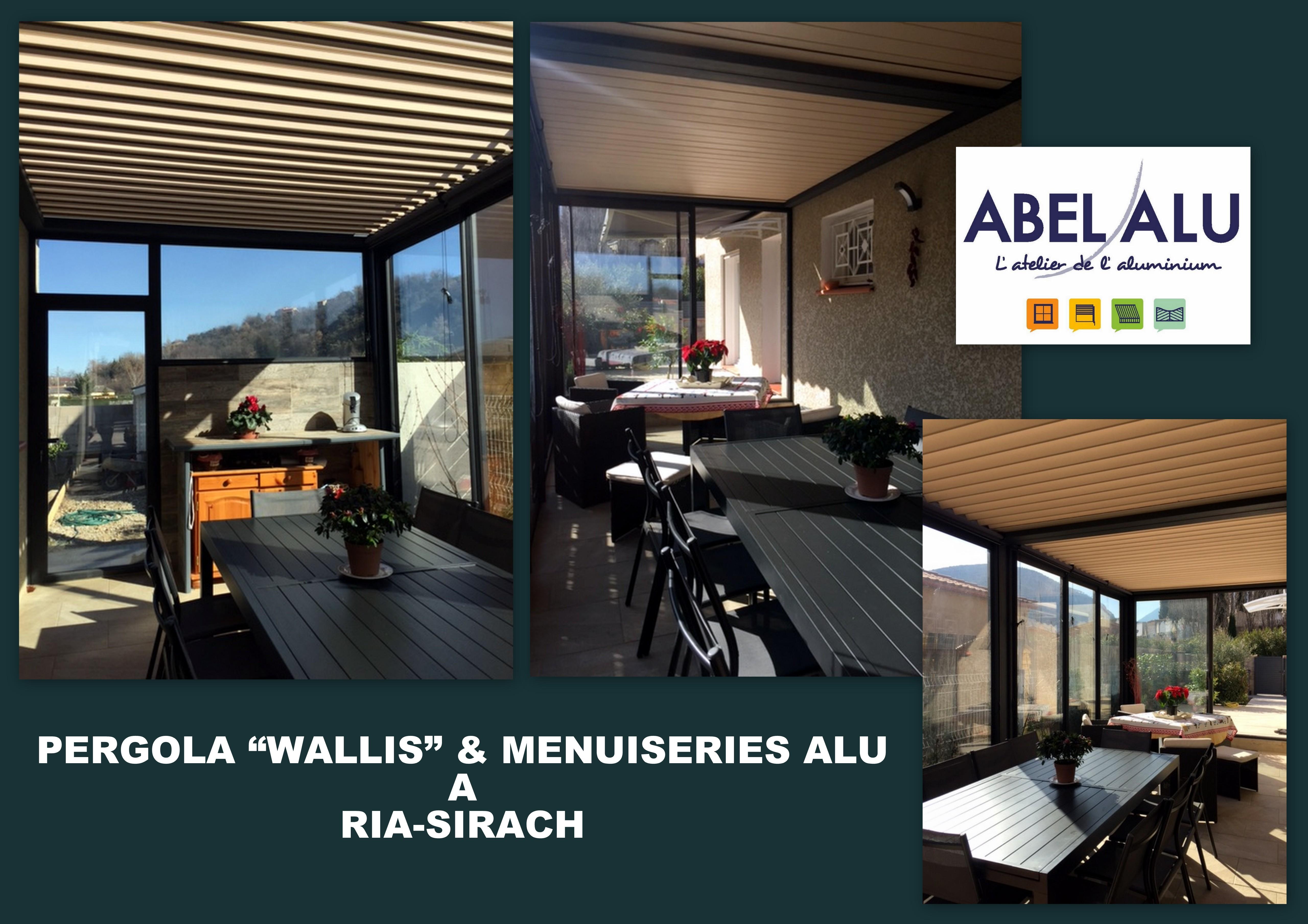 ABEL ALU - PERGOLA WALLIS & MENUISERIES ALU - RIA
