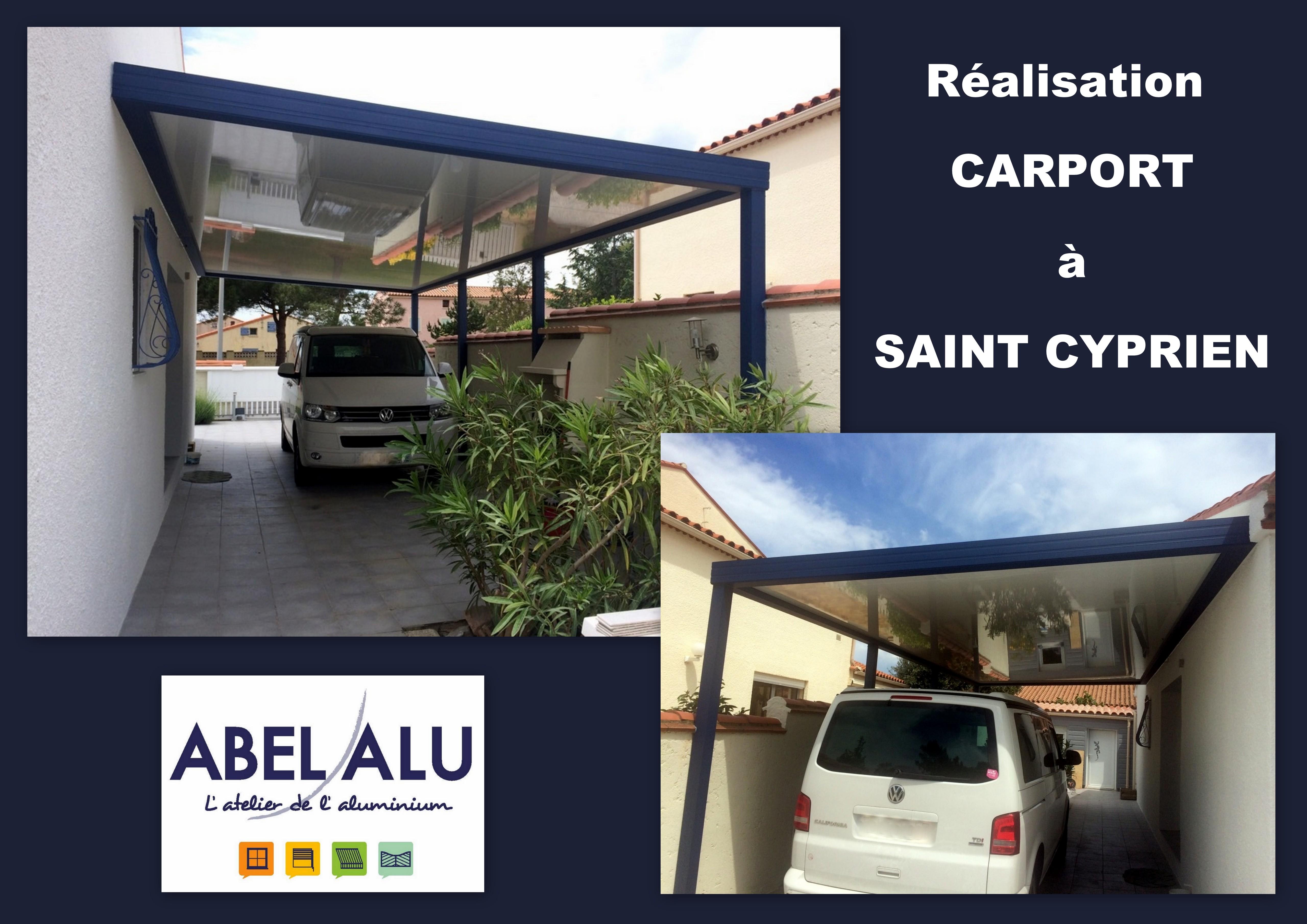 ABEL ALU - CARPORT - ST CYPRIEN