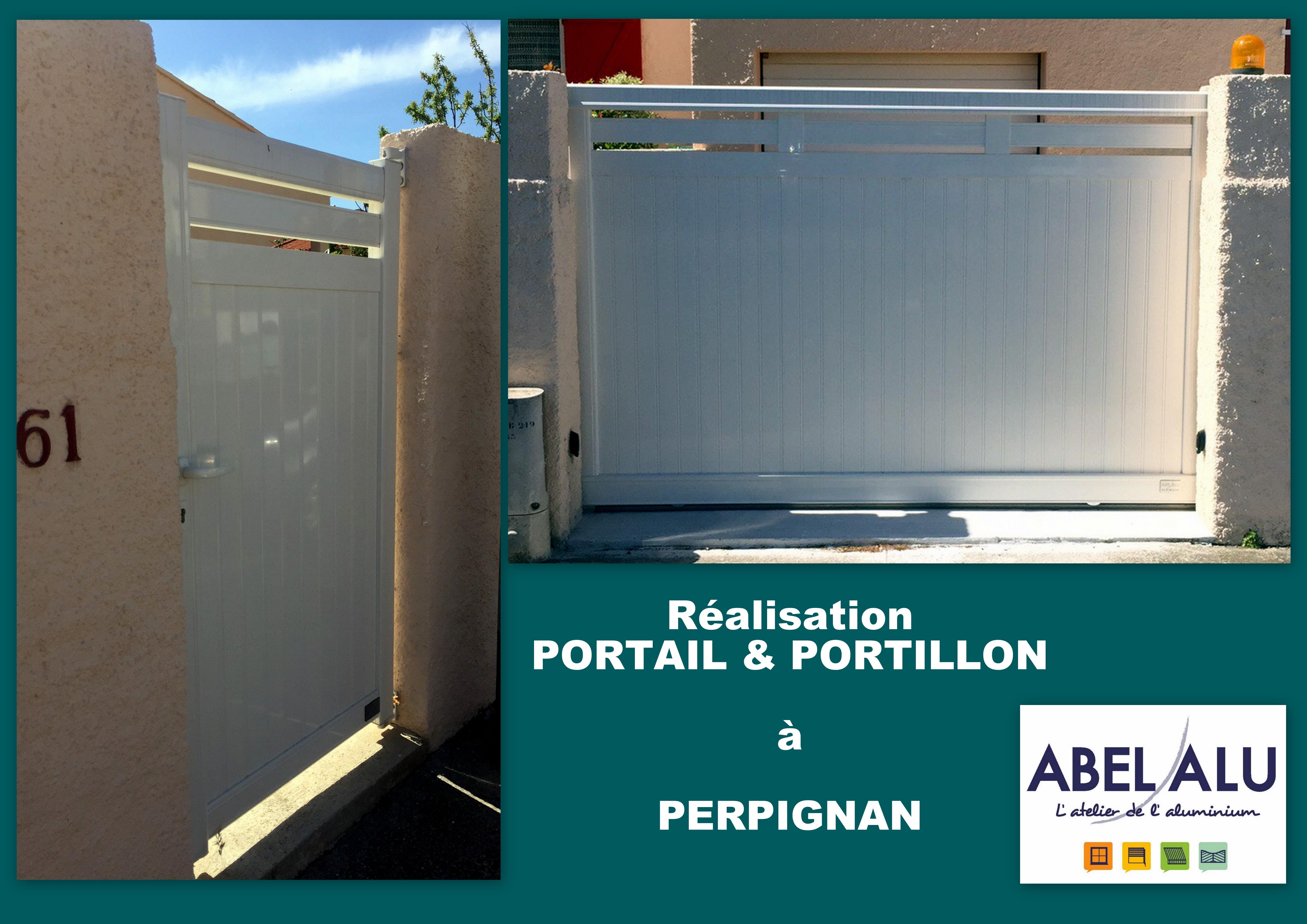ABEL ALU - PORTAIL-PORTILLON - PERPIGNAN