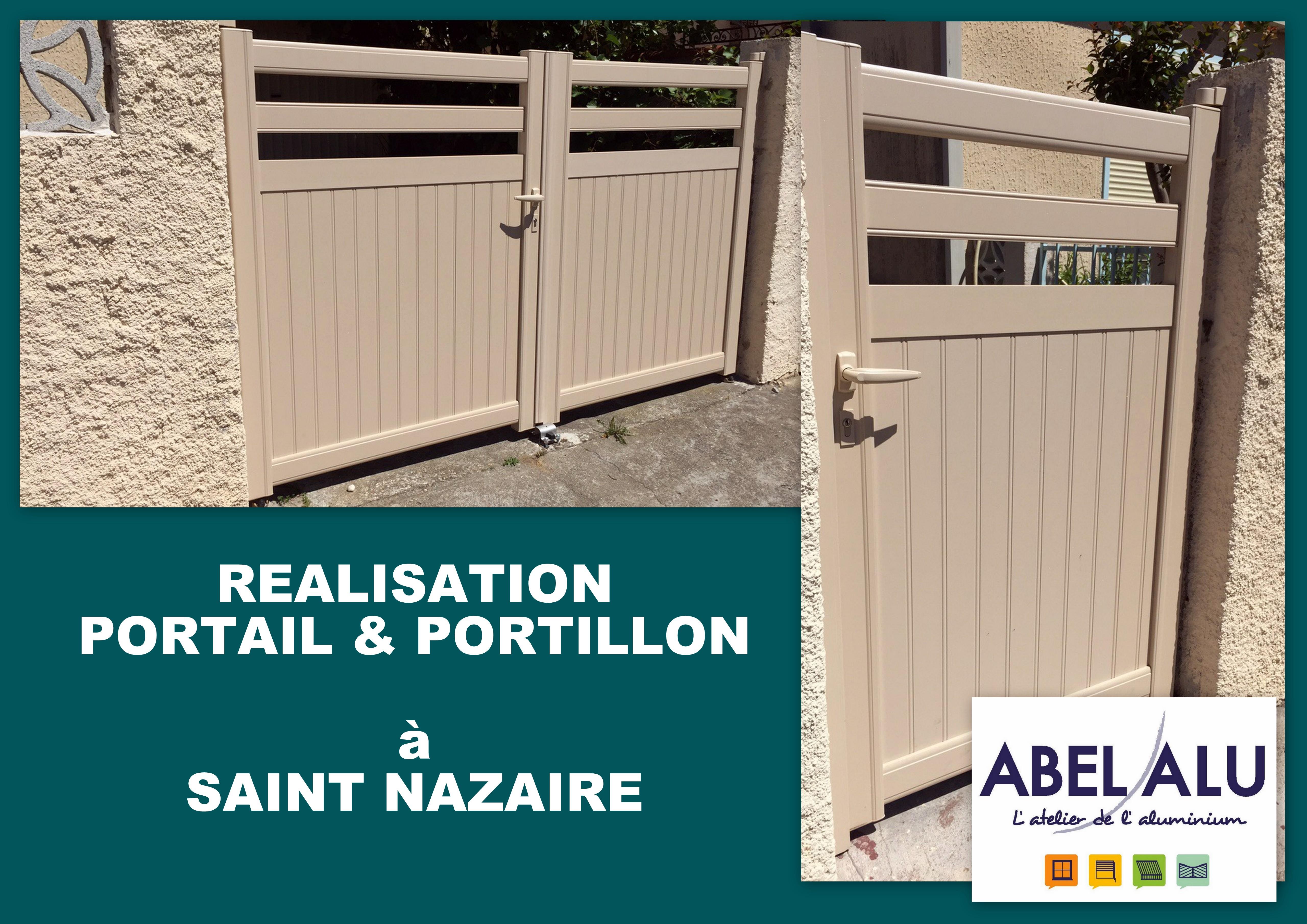 ABEL ALU - PORTAIL&PORTILLON - SAINT NAZAIRE