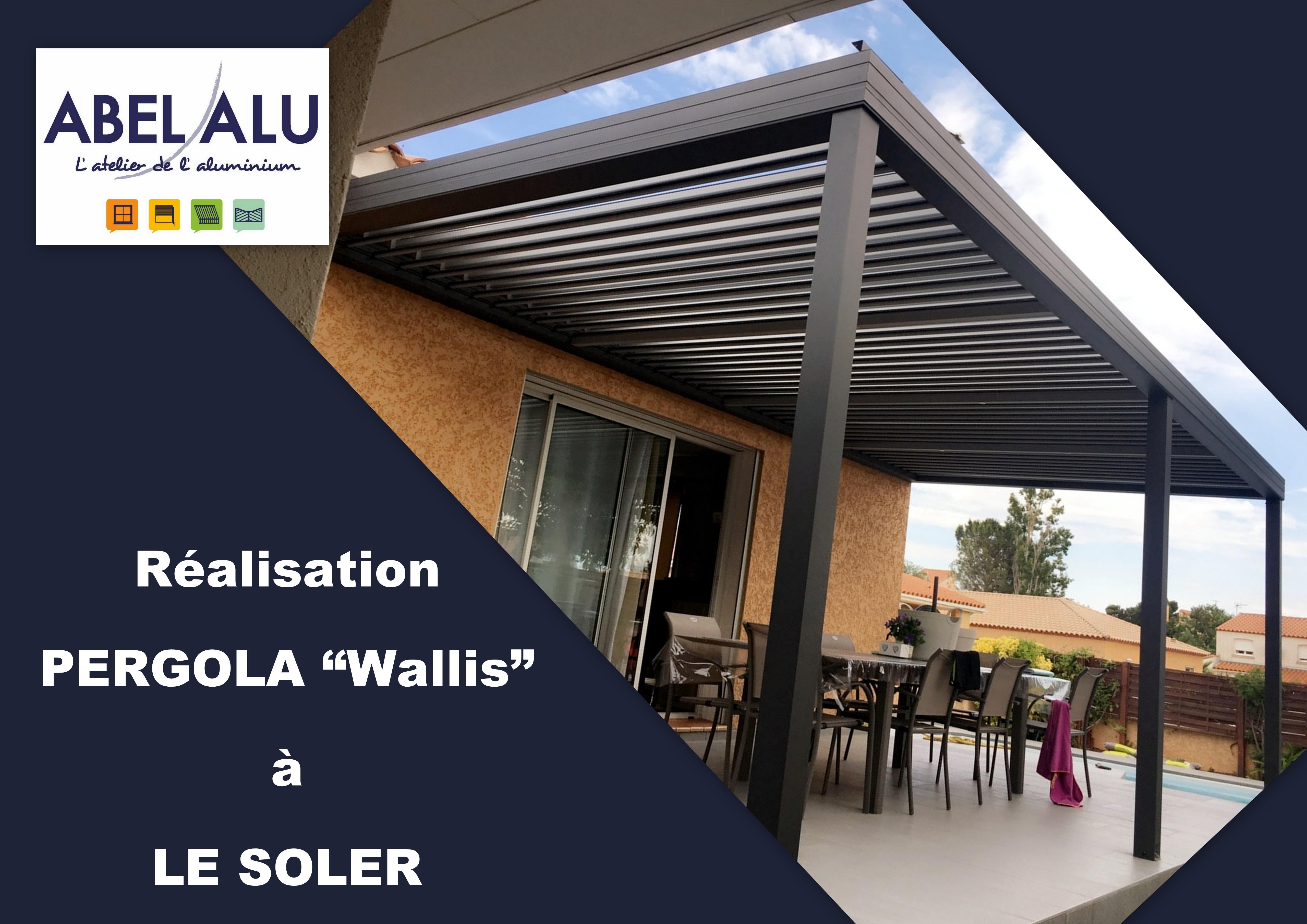 ABEL ALU - PERGOLA Wallis - LE SOLER