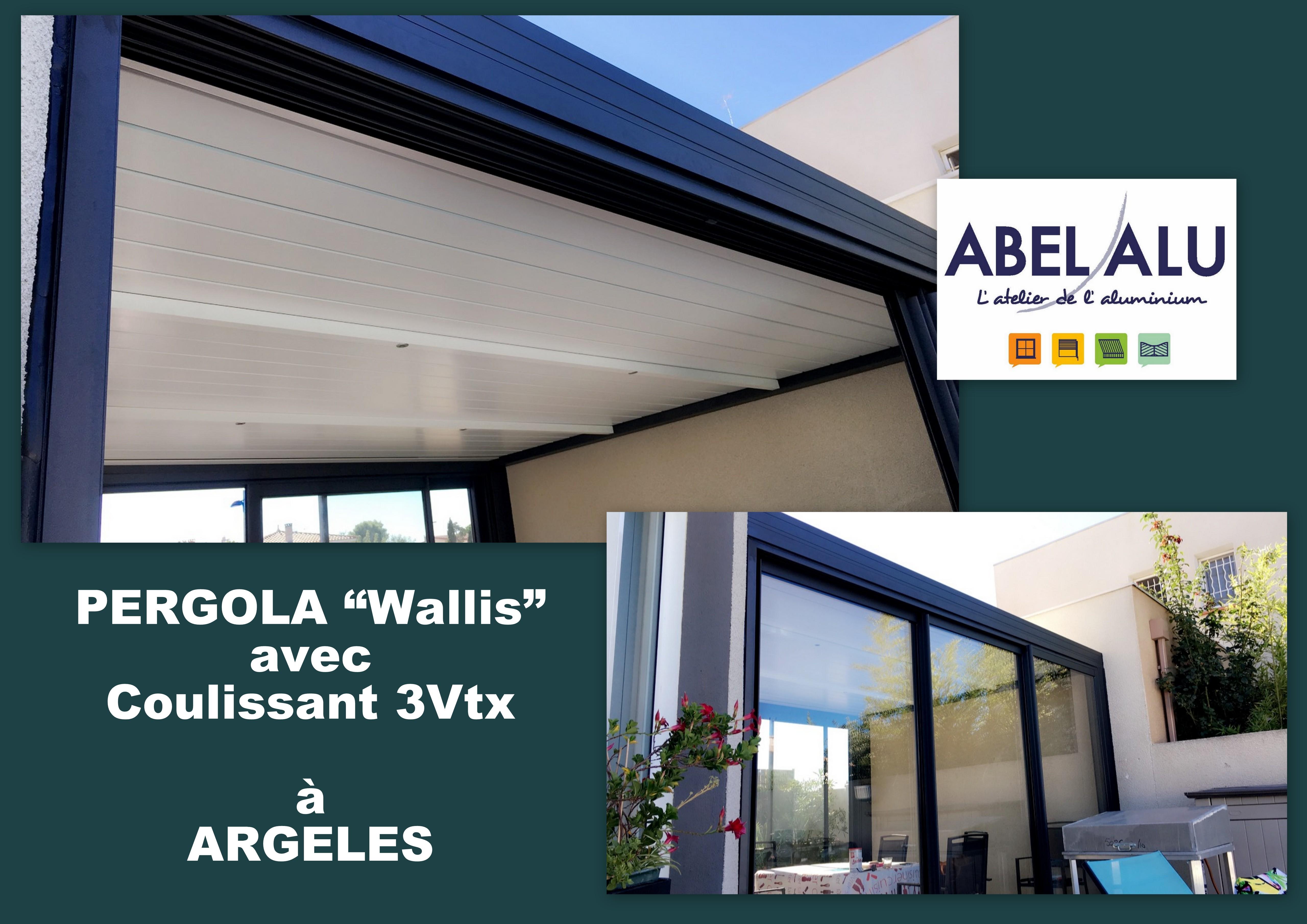 ABEL ALU - PERGOLA Wallis - ARGELES