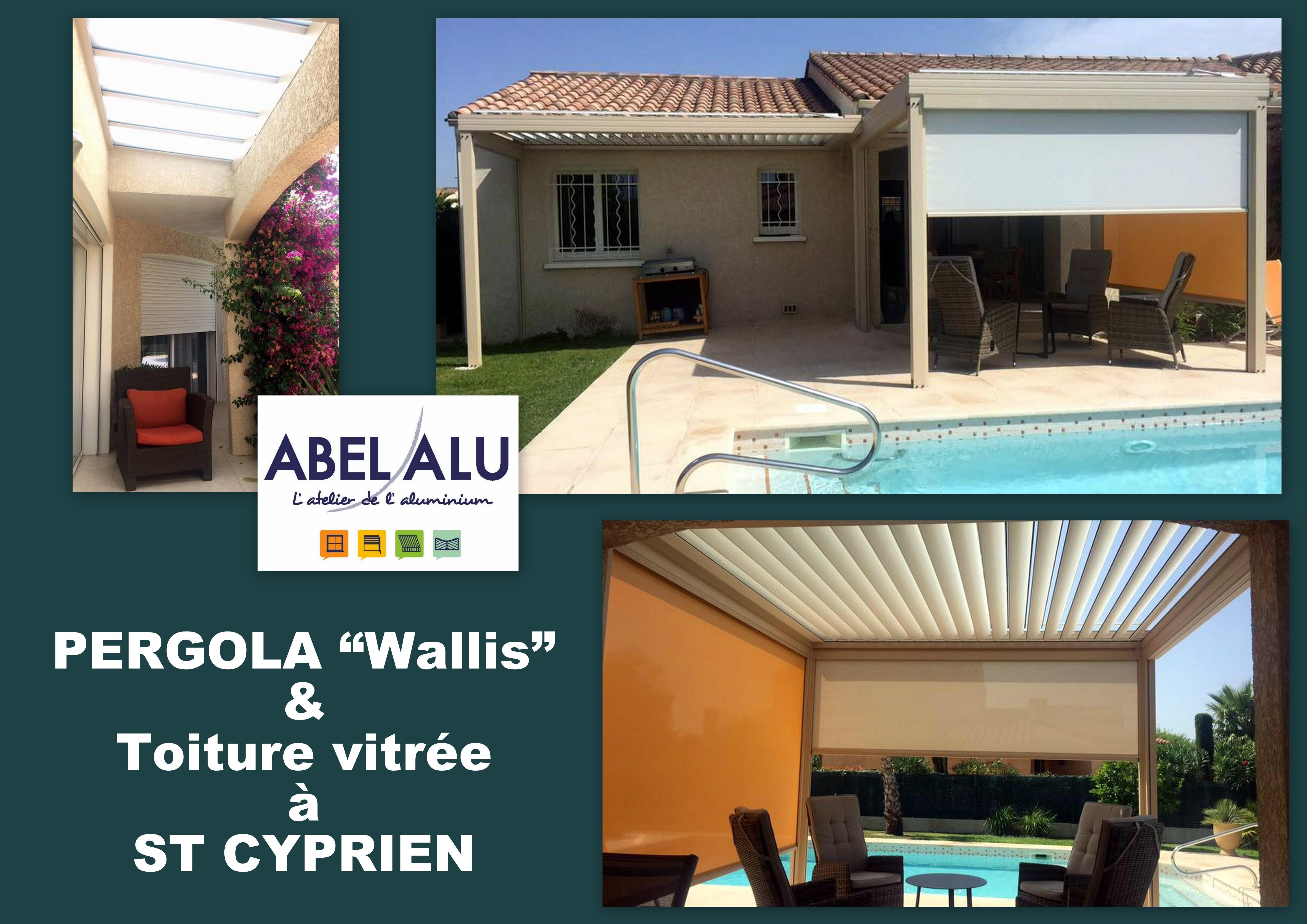 ABEL ALU - PERGOLA Wallis - ST CYPRIEN