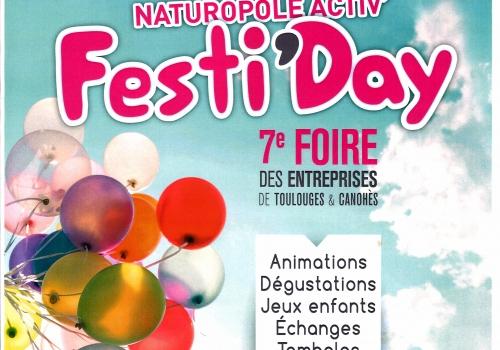 ABEL ALU partenaire du FESTI'DAY – 7ème FOIRE DES ENTREPRISES à TOULOUGES & CANOHES