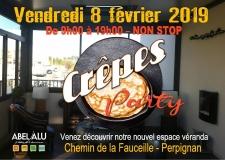 Journée Portes Ouvertes ABEL ALU – Crêpes Party  – Vendredi 8 février 2019