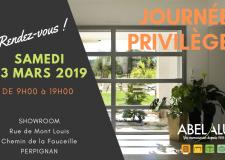 INVITATION – Journée Privilège – Samedi 23 mars 2019