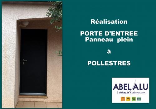 Réalisation PORTE D'ENTREE à POLLESTRES