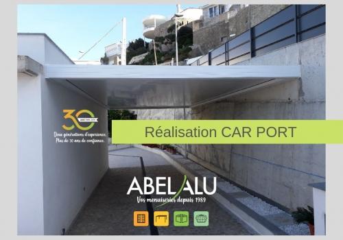 Réalisation CAR PORT – ABEL ALU