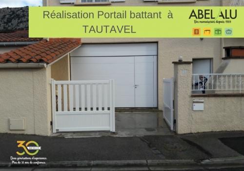 Réalisation PORTAIL BATTANT à TAUTAVEL