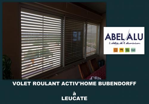 Réalisation VOLET ROULANT ACTIV'HOME BUBENDORFF à LEUCATE