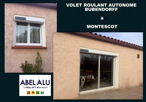 Réalisation VOLET ROULANT AUTONOME BUBENDORFF à MONTESCOT