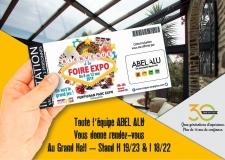 ABEL ALU partenaire de la Foire Expo 2019