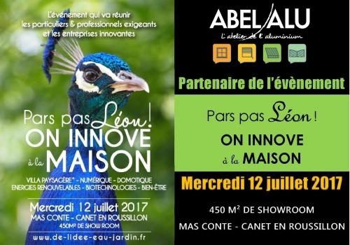 """ABEL ALU Partenaire de l'évènement """"Pars pas Léon ! ON INNOVE à la MAISON"""""""