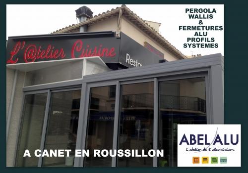 "REALISATION PERGOLA ""WALLIS"" – CANET EN ROUSSILLON"