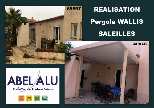 "REALISATION PERGOLA ""WALLIS"" – SALEILLES"