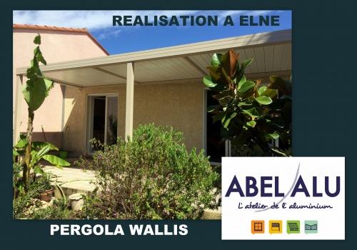 "REALISATION PERGOLA ""WALLIS"" – ELNE"
