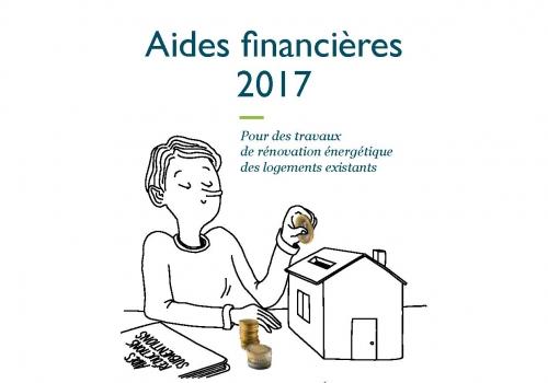 Aides financières pour l'amélioration de l'habitat pour 2017